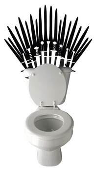 """I'm disappointed that this was the most interesting toilet related thing that came up when googling """"ivory throne""""..."""