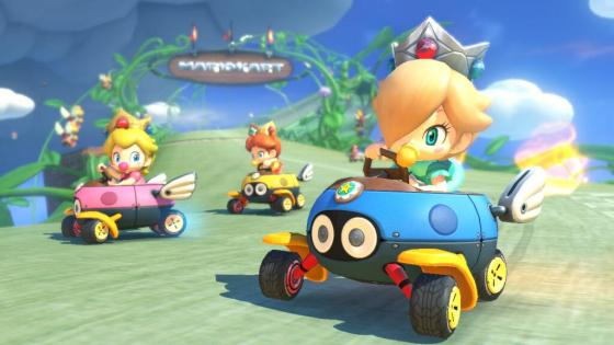 """""""Rosalina, this doesn't seem legal...or safe...or paradoxically possible..."""" """"SILENCE! TO THE CANDY STORE!!!"""""""